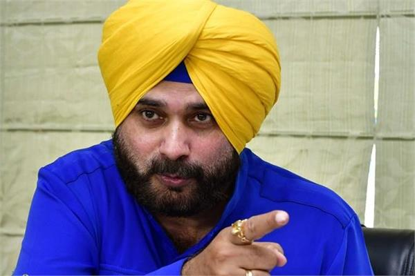 sidhu left government accommodation after being granted resignation