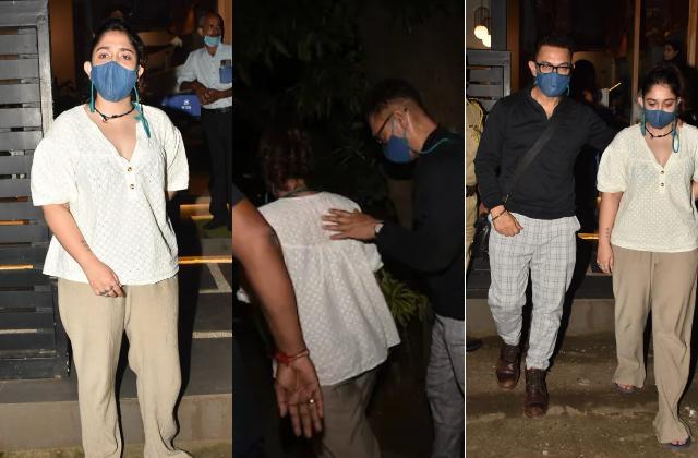 Spotted: देर रात बेटी आइरा संग आमिर खान की डिनर डेट, भीड़ में हर पल लाडली का यूं ख्याल रखते दिखे मिस्टर परफेक्शनिस्ट