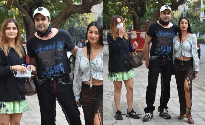 बहन आरती और पत्नी कश्मीरा सिंह संग कृष्णा की आउटिंग, ननंद भाभी का दिखा बोल्ड लुक