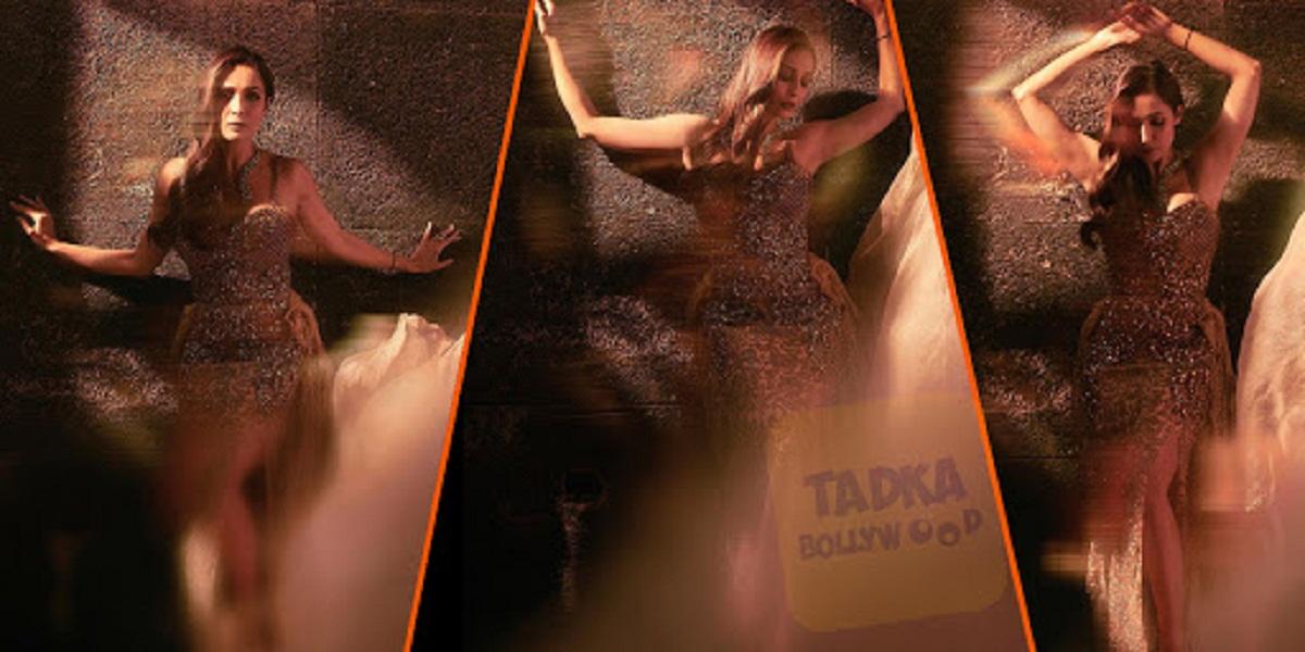 शिमरी हाई स्लिट ड्रेस में मलाइका ने करवाया ग्लैमरस फोटोशूट, एक्ट्रेस की मदमस्त अदाओं पर आया फैंस का दिल