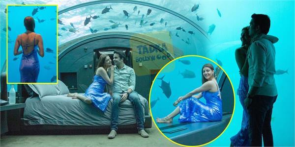 kajal aggarwal share romantic moment with hubby