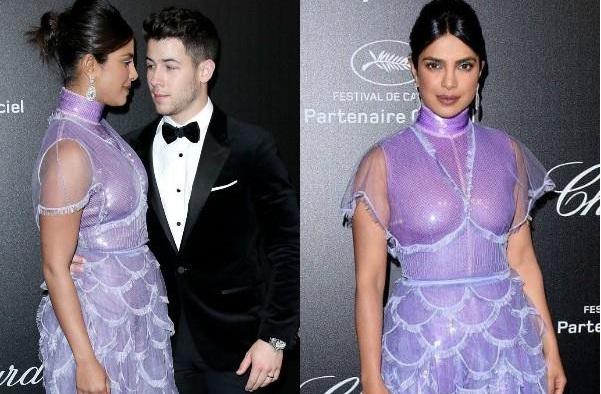 Cannes Day 2: रेड कारपेट पर पति निक संग छाईं प्रियंका, लेवेंडर ड्रेस में दिखा ग्लैमरस अंदाज