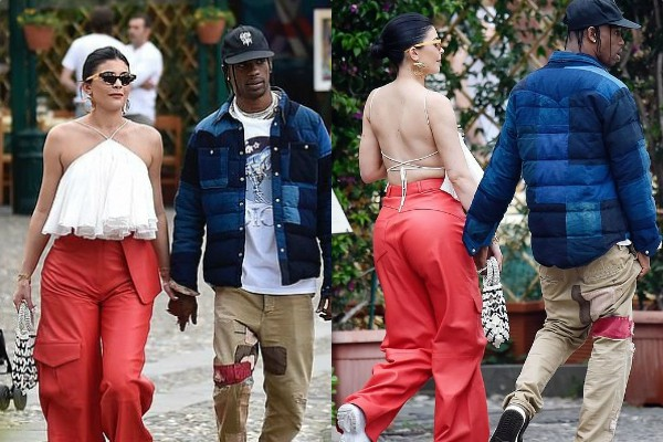 kylie jenner shopping spree in portofino with travis scott