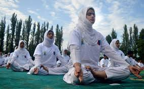 yoga day will celebrate in kashmir