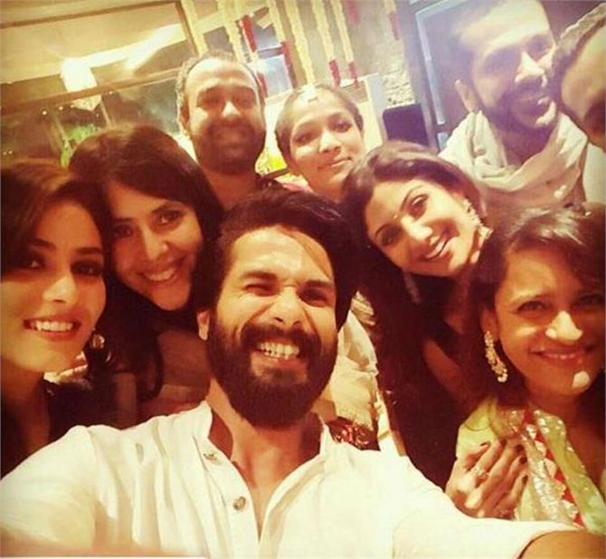 shahid  mira kapoor's adorable diwali selfie