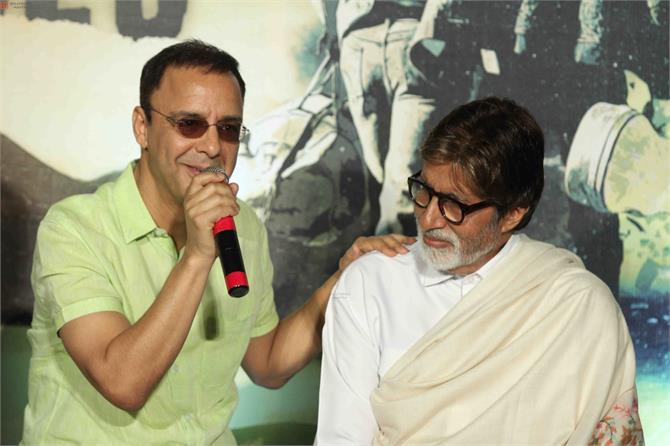 vidhu vinod chopra takes care of his actors amitabh bachchan