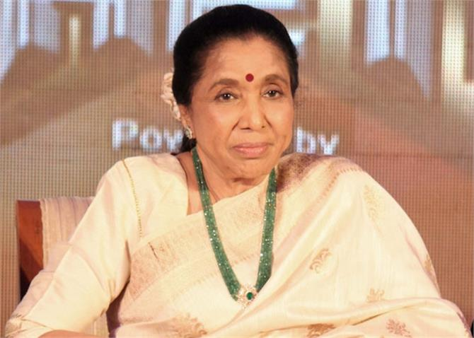 asha bhosle erupted on twitter