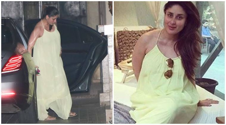 kareena came to shopping for the baby