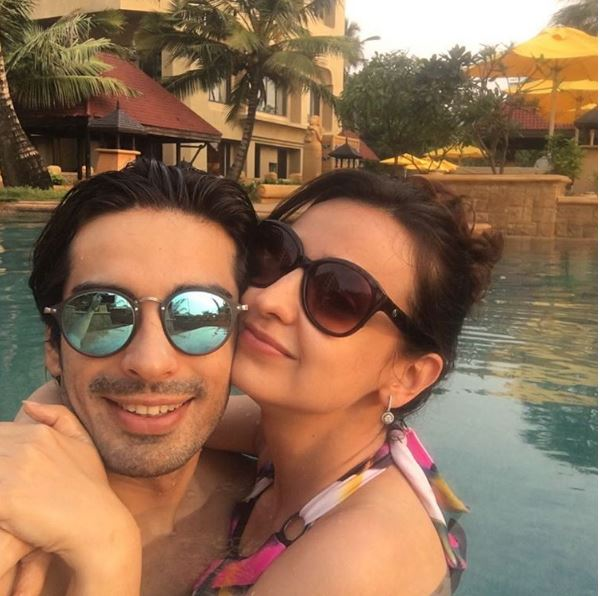 sanaya mohits holiday pictures