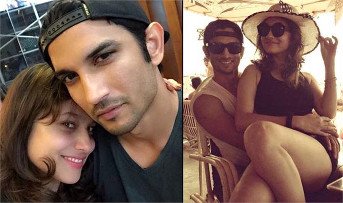 sushant singh rajput and ankita lokhande kiss photo goes viral