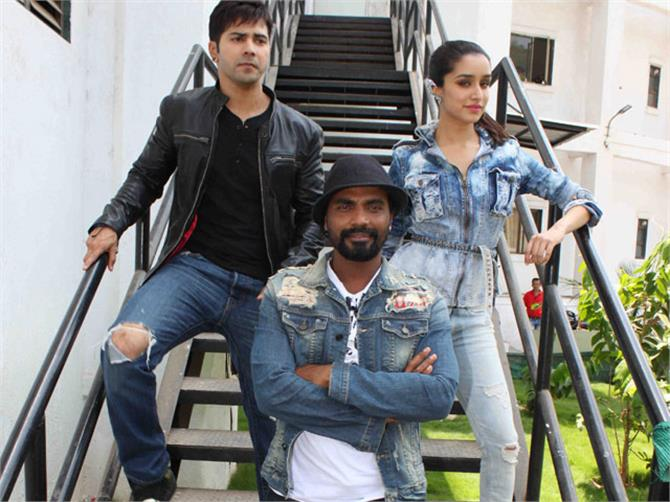 remo d souza working in abcd 3