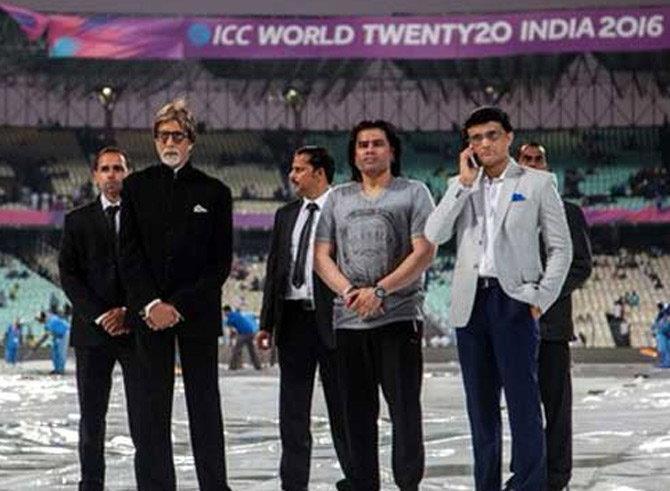 amitabh bachchan national anthem india pakistan match