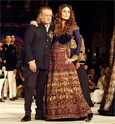 lakme fashion week seemed to rohit bal with kareena