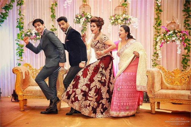 reception of the fun filled moments