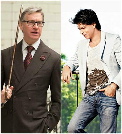 hollywood movie ghostbustersthe director would like to work with king khan of bollywood