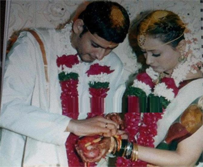 watch telugu superstar mahesh babu marriage pics