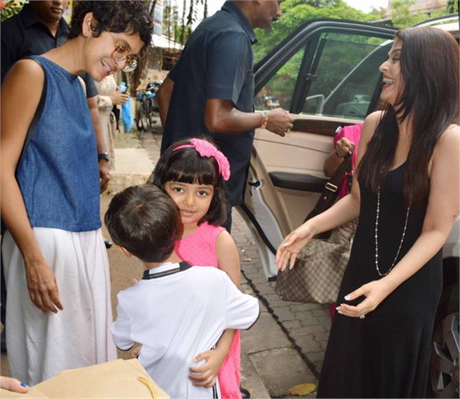 aamir khan son aishwarya daughter special bonding