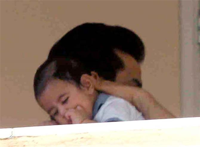 tusshar with son laksshya kapoor