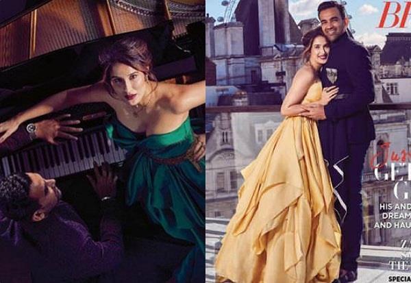 zaheer khan and sagarika ghatge photoshoot