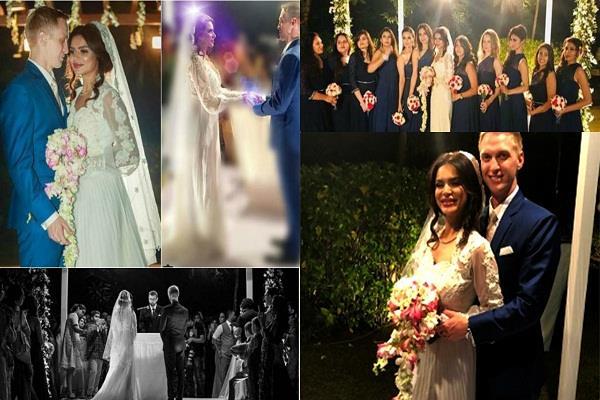 aashka goradia is having her christian wedding
