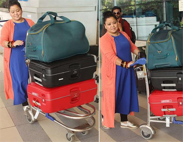 bharti singh had gone to goa