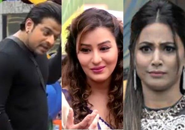 karan patel lashes out hina khan in bigg boss house