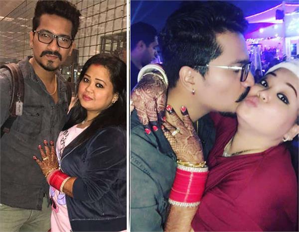 bharti singh and harsh limbachiyaa honeymoon in dubai