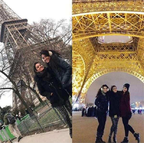 these tv hotties are holidaying together in paris with darling beaus