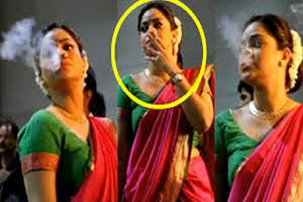 actresses smoking seen