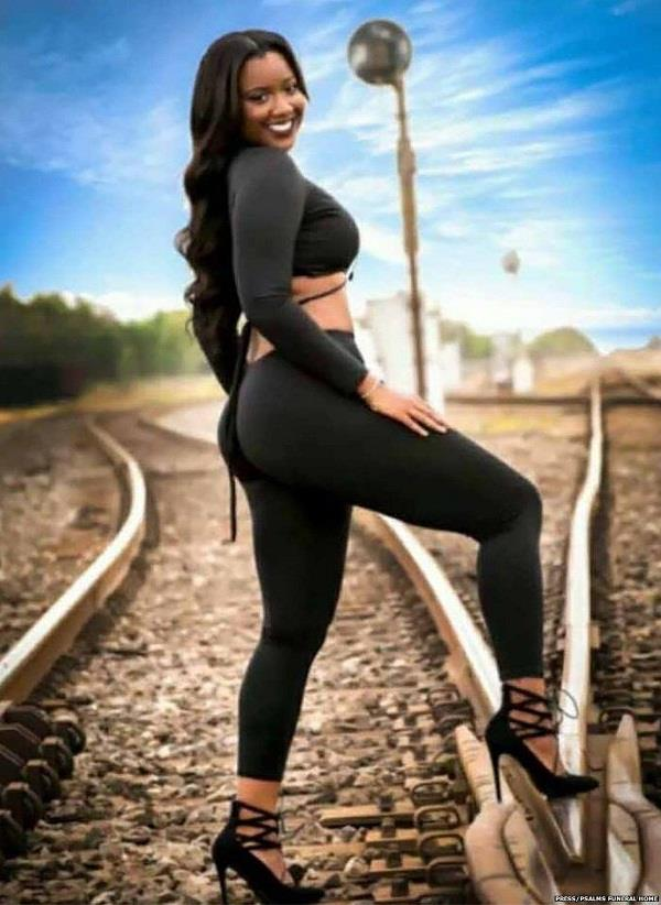 this modal died during photoshoot on railway track