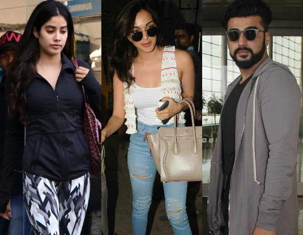 celebs spotted in mumbai