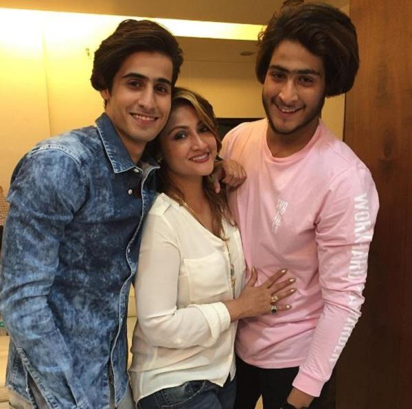 tv actress has some twin sons   birthday celebrated in this style