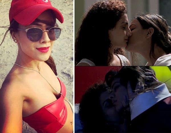 tv actresses intimate scene in web series