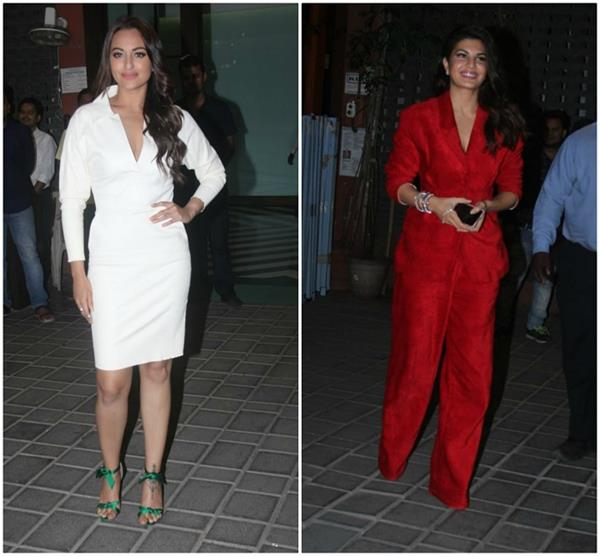 sonakshi sinha jacqueline other celebs attend aayush sharma s birthday bash