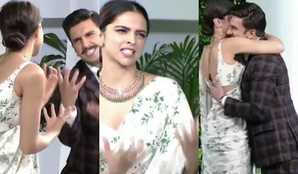 बॉयफ्रेंड रणवीर के साथ 'खलीबली' गानें पर जमकर नाचीं दीपिका, दिखी रोमांटिक केमिस्ट्री