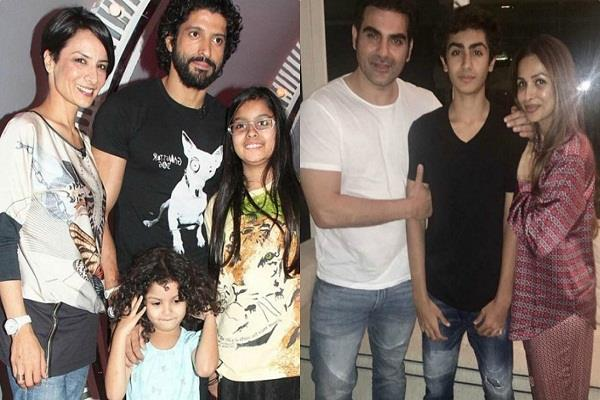 bollywood actors living alone with their kids