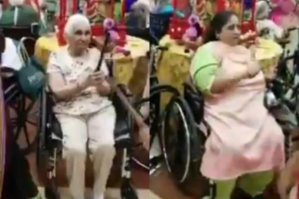 new jersey my indian nursing home navratri garba vedio viral