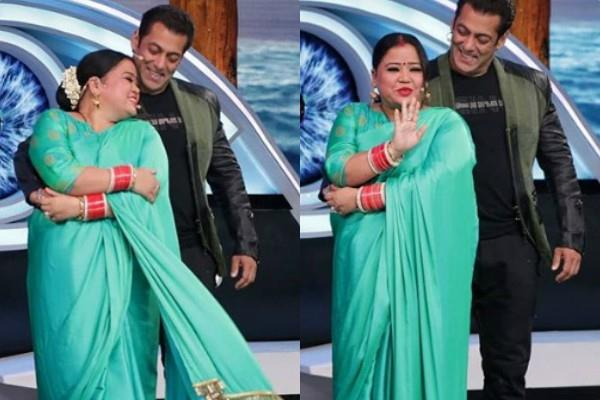 bigg boss 12 bharti singh enter in weekend ka vaar as salman khan wife