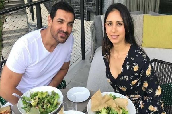 john abraham spends quality time with wife priya runchal