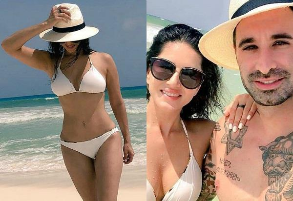 sunny leone enjoying holidays with husband