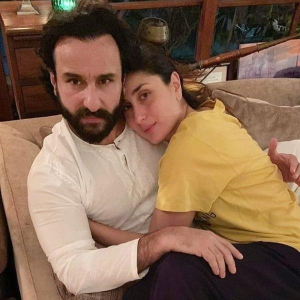 kareena kapoor khan romantic picture with husband