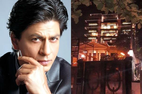 shah rukh khan beautiful villa mannat gets decorated for king khan birthday