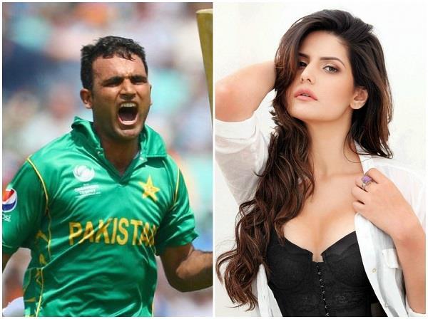 is zareen khan dating pakistan batsman fakhar zaman