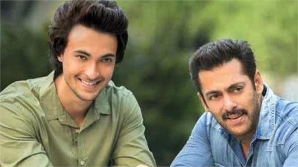 loveratri actor aayush sharma talk about salman khan