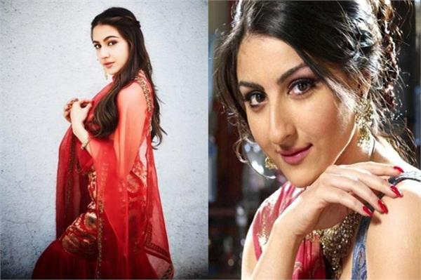 soha ali khan saying about sara ali khan