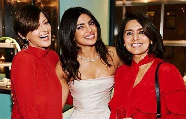 sonali bendre best wishes to priyanka chopra shared photo on instagram