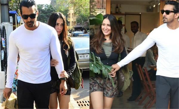 kim spotted with boyfriend harshvardhan in bandra
