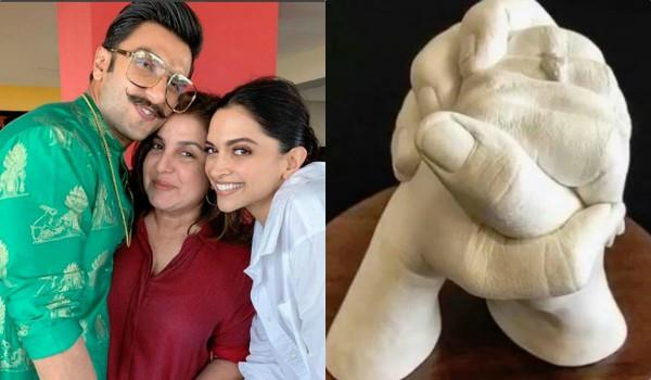 farah khan gift to deepika padukone and ranveer singh