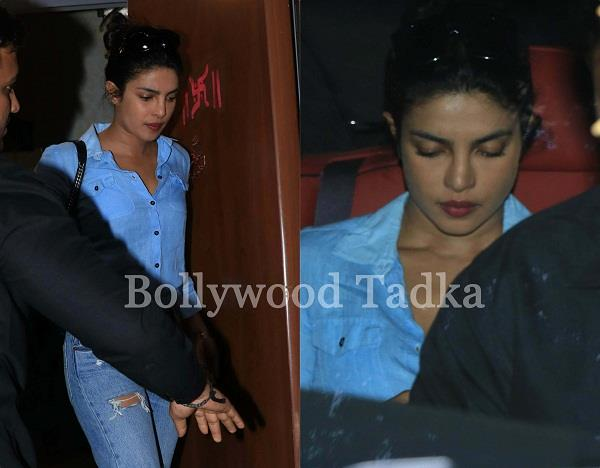 priyanka chopra in sad mood