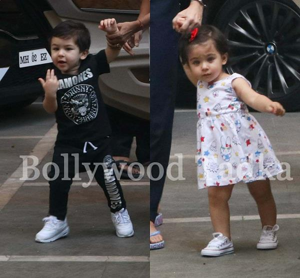 taimur ali khan with sister inaaya